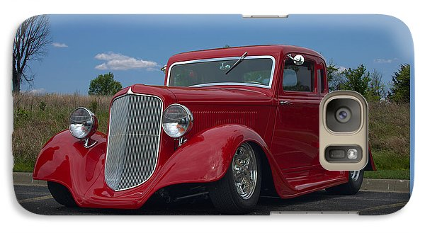 Galaxy Case featuring the photograph 1934 Ford Coupe Hot Rod by Tim McCullough