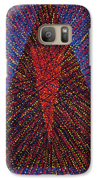 Galaxy Case featuring the painting Mobius Band by Kyung Hee Hogg