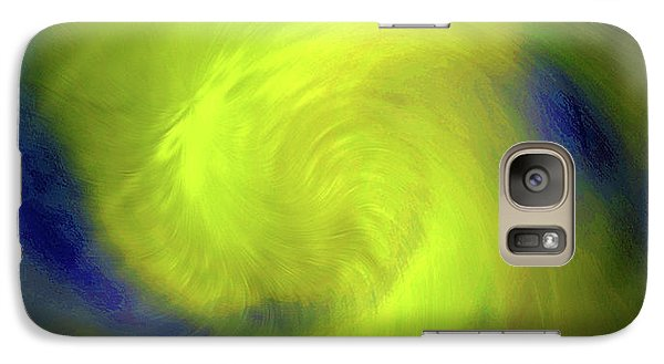 Galaxy Case featuring the digital art 1030-2017 by John Krakora