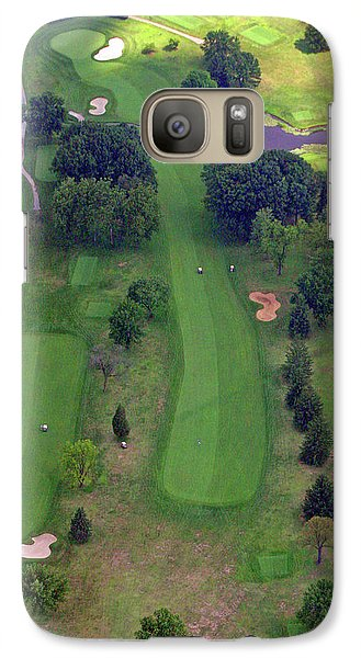 Galaxy Case featuring the photograph 10th Hole Sunnybrook Golf Club 2 by Duncan Pearson