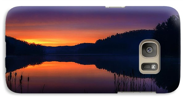 Galaxy Case featuring the photograph Winter Dawn by Thomas R Fletcher