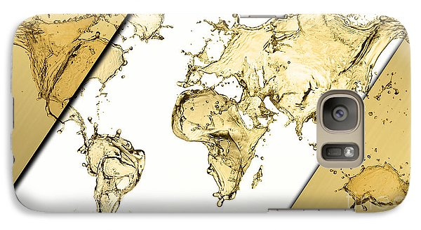 World Map Collection Galaxy Case by Marvin Blaine