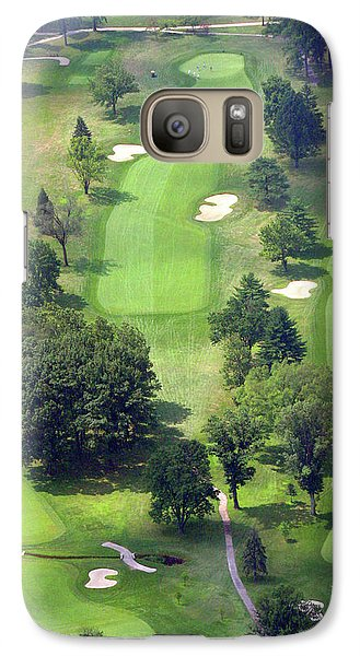 Galaxy Case featuring the photograph 11th Hole Sunnybrook Golf Club 398 Stenton Avenue Plymouth Meeting Pa 19462 1243 by Duncan Pearson