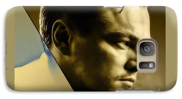 Leonardo Dicaprio Collection Galaxy Case by Marvin Blaine
