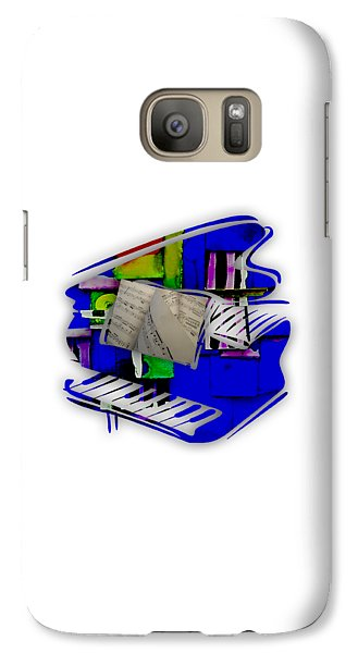 Piano Collection Galaxy Case by Marvin Blaine