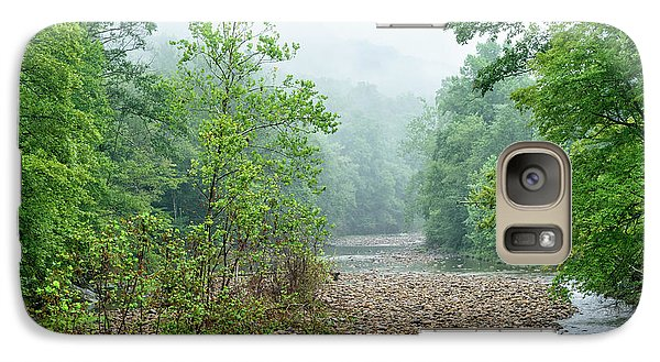 Galaxy Case featuring the photograph Williams River Summer Mist by Thomas R Fletcher