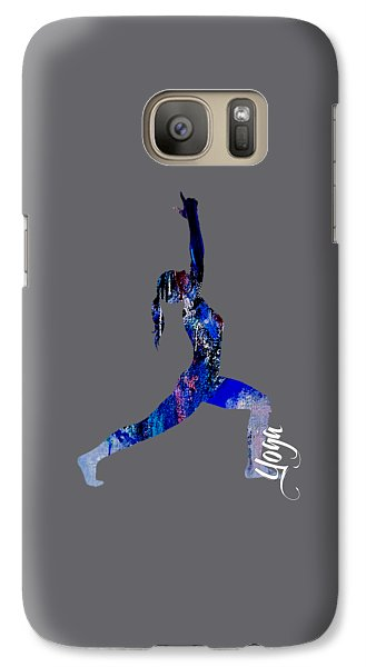 Yoga Collection Galaxy Case by Marvin Blaine