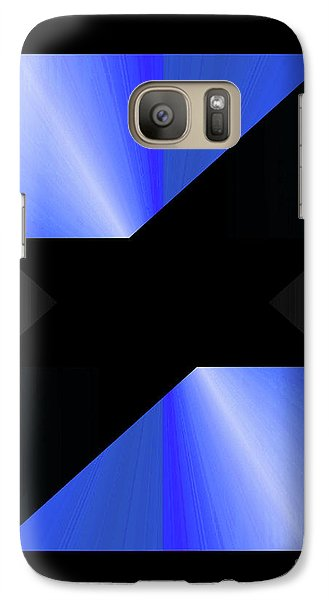 Galaxy Case featuring the digital art 1204-2017 by John Krakora