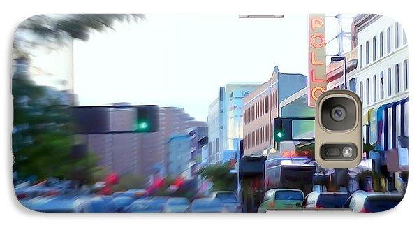 125th Street Harlem Nyc Galaxy Case by Ed Weidman