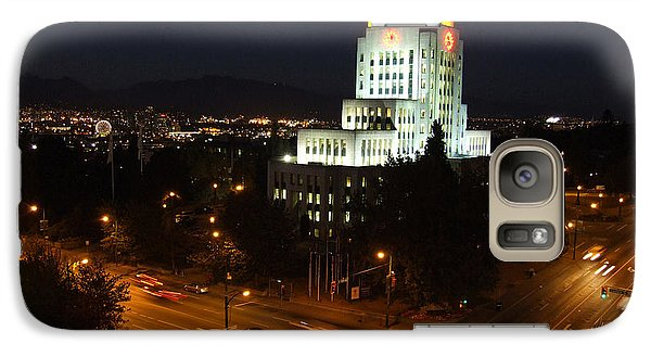 Galaxy Case featuring the photograph 12th And Cambie 1 by Mark Alan Perry