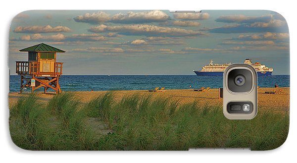 Galaxy Case featuring the photograph 13- Cruising In Paradise by Joseph Keane