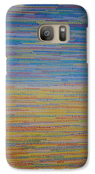 Galaxy Case featuring the painting Identity by Kyung Hee Hogg