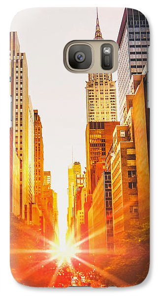 New York City Galaxy Case by Vivienne Gucwa