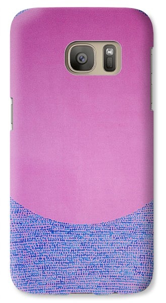Galaxy Case featuring the painting Perfect Existence by Kyung Hee Hogg