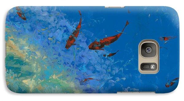 13 Pesciolini Rossi Galaxy S7 Case