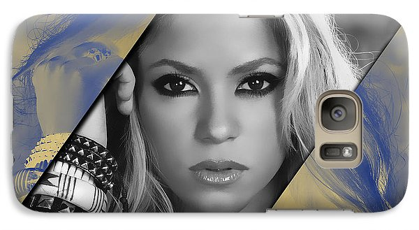 Shakira Galaxy S7 Case - Shakira Collection by Marvin Blaine