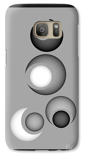 Galaxy Case featuring the digital art 1320-2017 by John Krakora