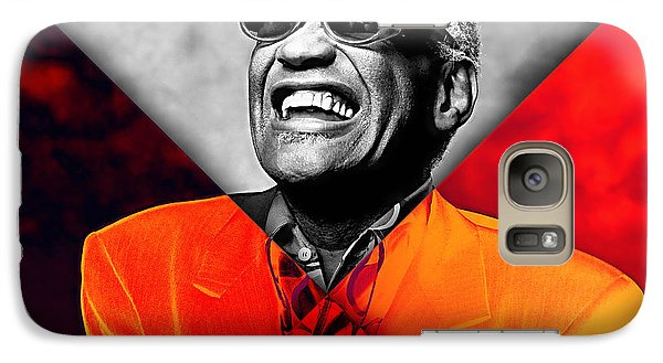 Ray Charles Collection Galaxy Case by Marvin Blaine