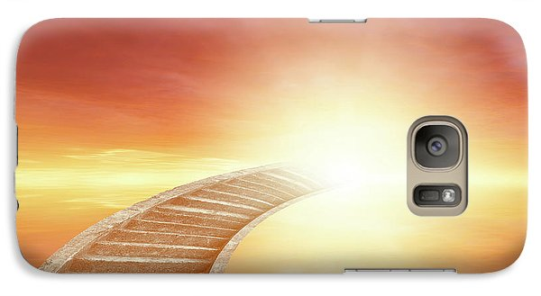 Galaxy Case featuring the photograph Stairway To Heaven by Les Cunliffe