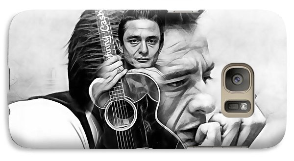 Johnny Cash Collection Galaxy S7 Case