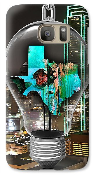 Texas State Map Collection Galaxy Case by Marvin Blaine