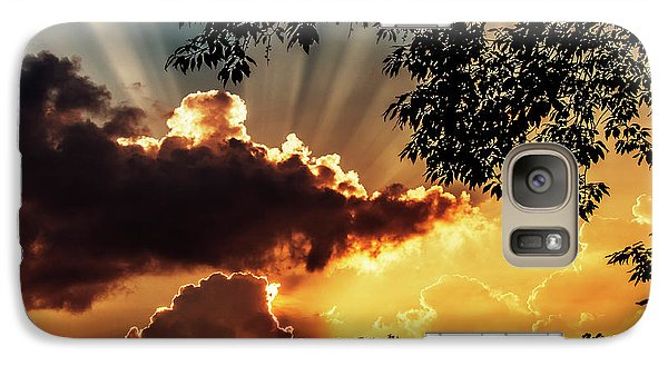 Galaxy Case featuring the photograph Appalachian Sunset by Thomas R Fletcher