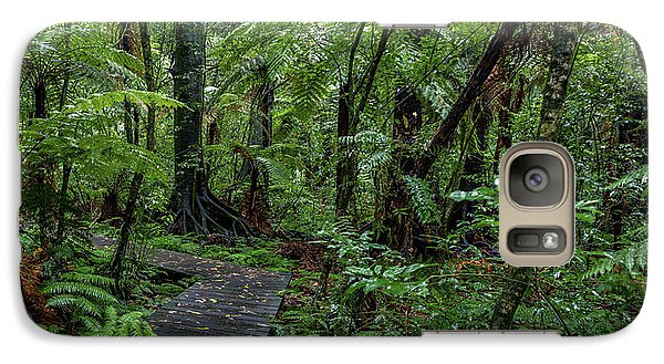 Galaxy Case featuring the photograph Forest Boardwalk by Les Cunliffe