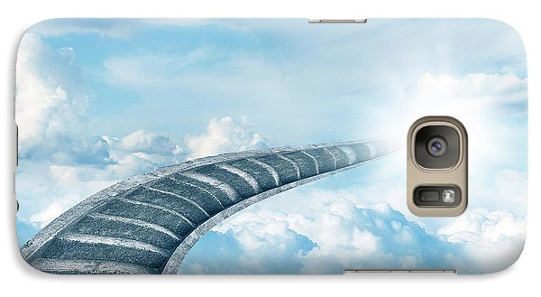 Galaxy Case featuring the digital art Stairway To Heaven by Les Cunliffe