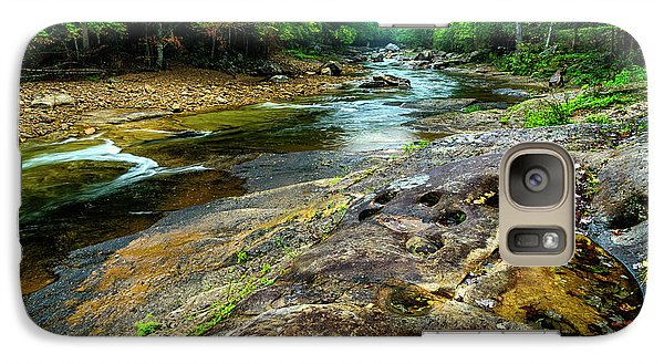 Galaxy Case featuring the photograph Williams River Summer by Thomas R Fletcher