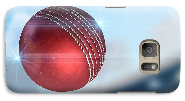 Ball Flying Through The Air Galaxy Case by Allan Swart