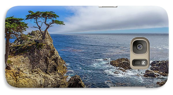 Galaxy Case featuring the photograph 17 Mile Drive Pebble Beach by Scott McGuire