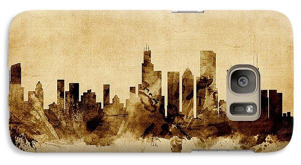 Chicago Illinois Skyline Galaxy S7 Case by Michael Tompsett