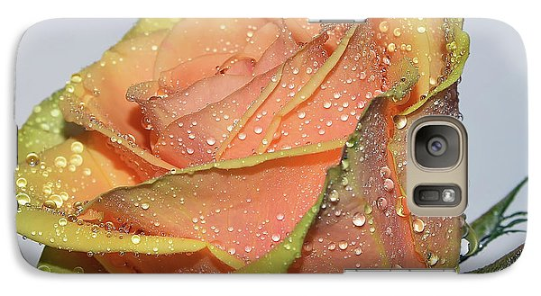 Galaxy Case featuring the photograph Rose by Elvira Ladocki