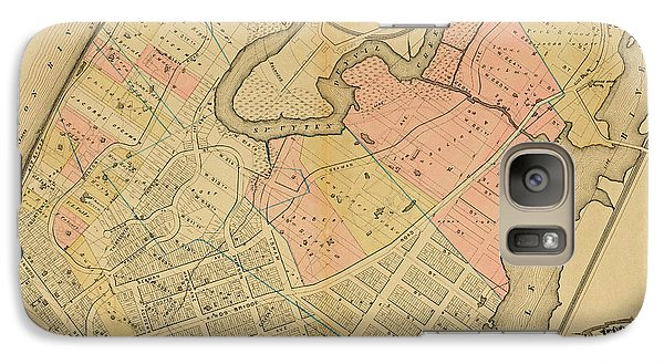 1879 Inwood Map  Galaxy S7 Case by Cole Thompson