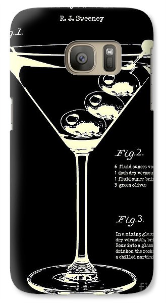 1897 Dirty Martini Patent Galaxy S7 Case by Jon Neidert