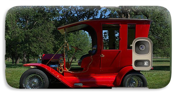 Galaxy Case featuring the photograph 1909 Ford Model T Limo Custom Hot Rod by Tim McCullough