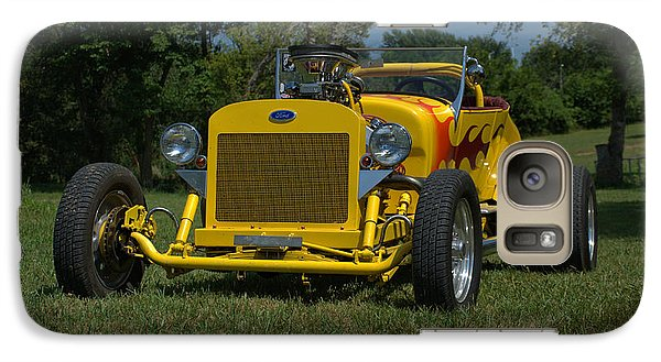 Galaxy Case featuring the photograph 1924 Ford Model T Roadster Hot Rod by Tim McCullough