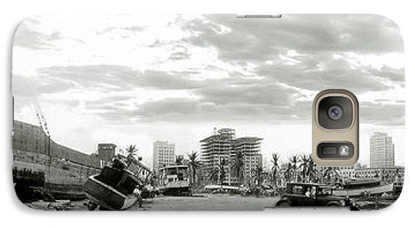 1926 Miami Hurricane  Galaxy Case by Jon Neidert