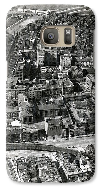 Galaxy Case featuring the photograph 1930 Along Charles Street, Boston by Historic Image