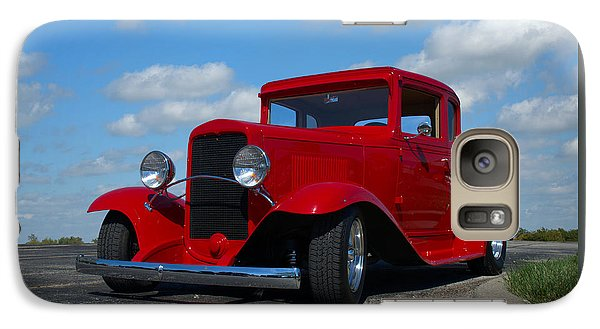 Galaxy Case featuring the photograph 1930 Chevrolet Coupe Hot Rod by Tim McCullough