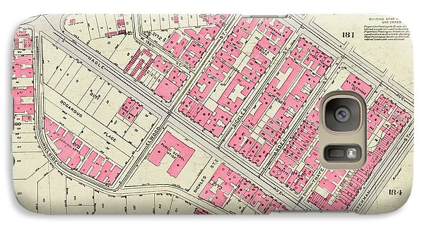 1930 Inwood Map  Galaxy S7 Case by Cole Thompson