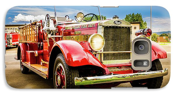 1931 Mack - Heber Valley Fire Dept. Galaxy S7 Case