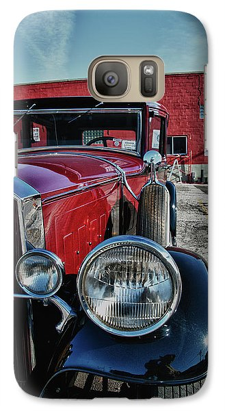 Galaxy Case featuring the photograph 1931 Pierce Arow 3473 by Guy Whiteley