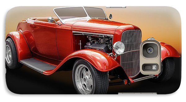 Galaxy Case featuring the photograph 1932 Ford Convertible Roadster by Frank J Benz