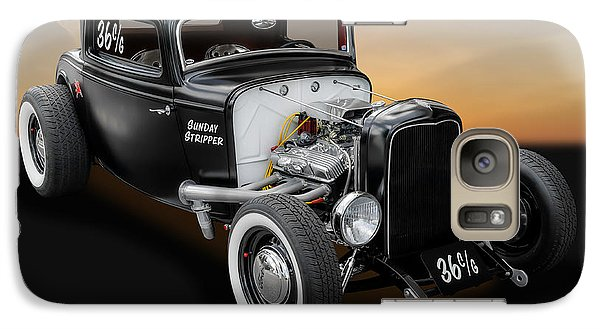 Galaxy Case featuring the photograph 1932 Ford Deuce Coupe C/gas Roadster by Frank J Benz