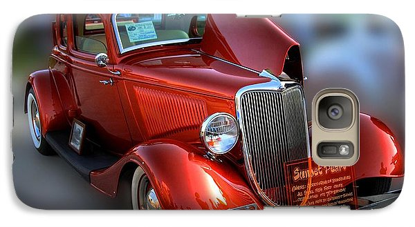 Galaxy Case featuring the photograph 1934 Ford Coupe by Dyle   Warren