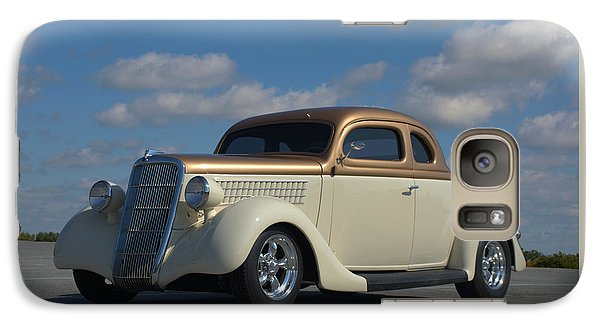Galaxy Case featuring the photograph 1935 Ford Coupe Hot Rod by Tim McCullough