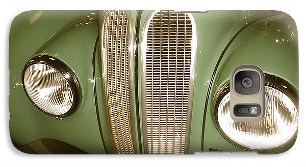 Galaxy Case featuring the photograph 1937 Bmw 328 Front Detail by John Colley