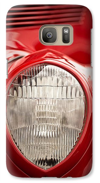 1937 Ford Headlight Detail Galaxy S7 Case by  Onyonet  Photo Studios