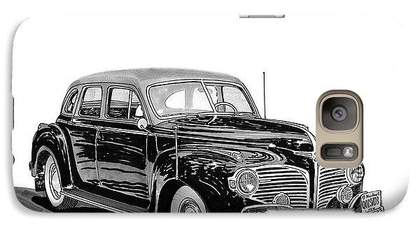 Galaxy Case featuring the painting 1941 Dodge Town Sedan by Jack Pumphrey